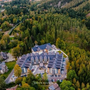 Widok na Hotel Green Mountain