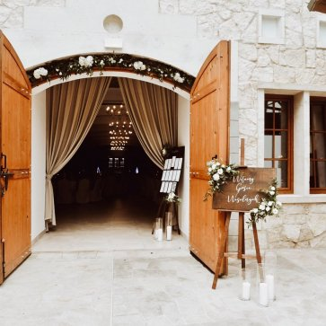 wesele rustykalne hotel vinnica
